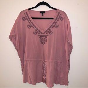 Jessica Simpson Pink Blouse